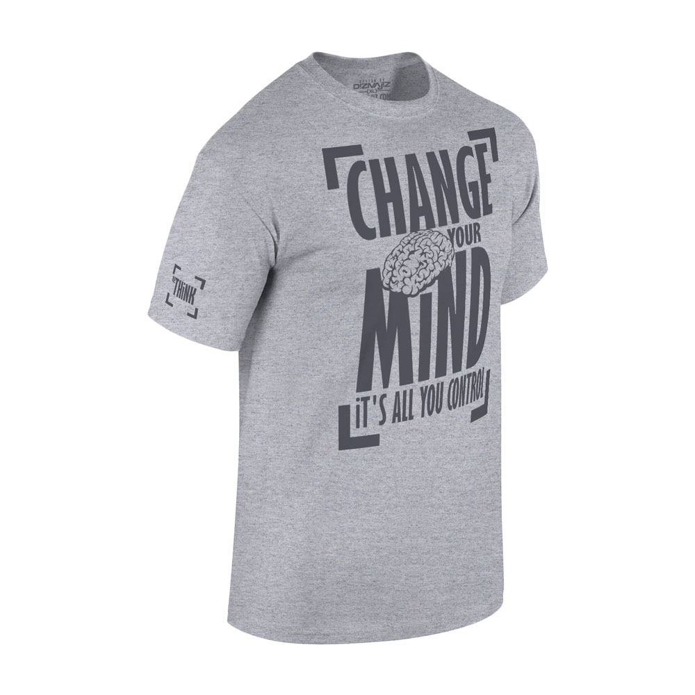 RETHiNK CHANGE YOUR MiND TSHIRT